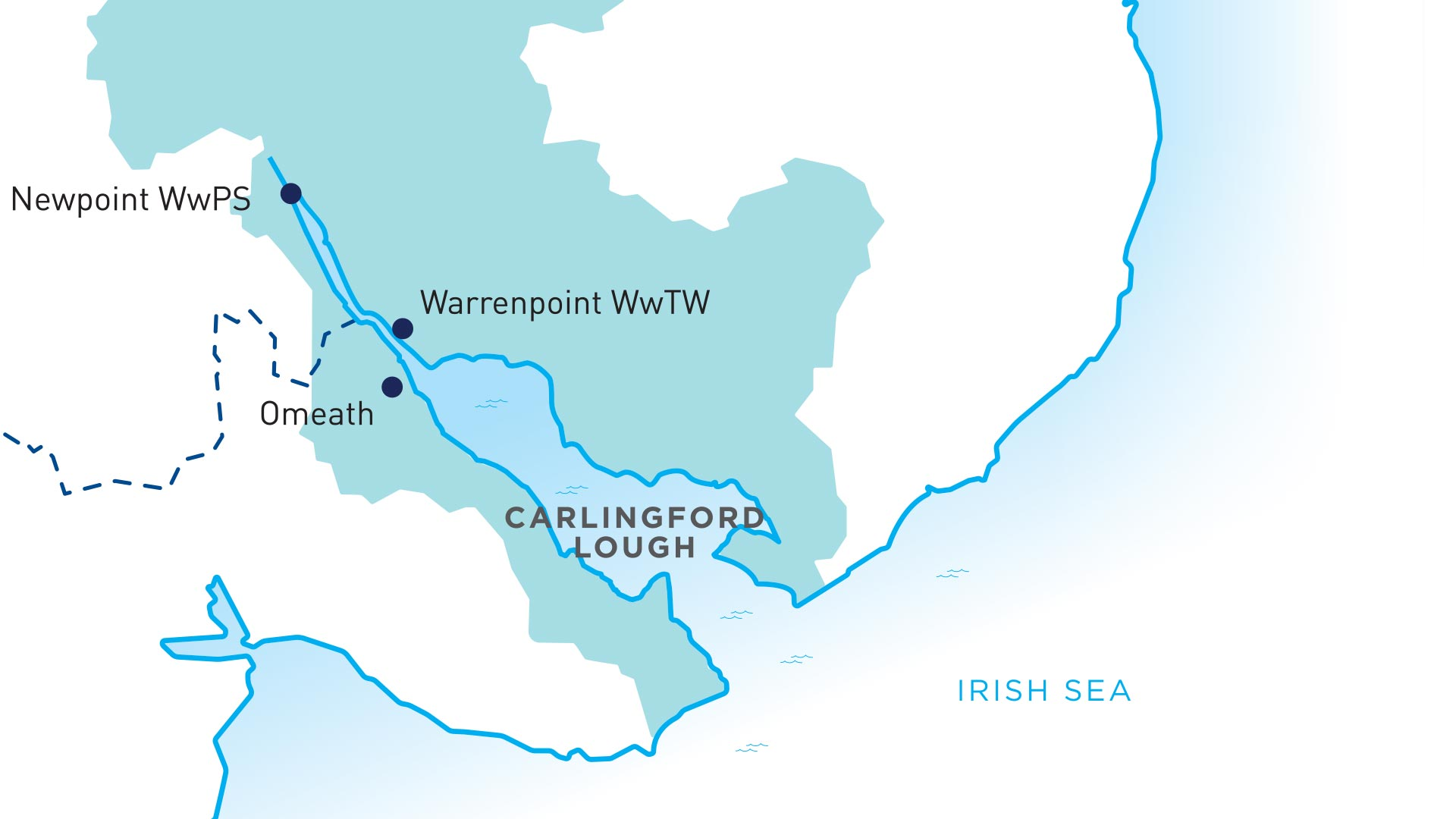 Carlingford Catchment Map
